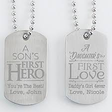 engravable dog tags personalized dog tag set of two