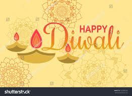 happy diwali ornament rangoli creative diwali stock vector