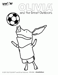 olivia coloring pages olivia the pig coloring page free printable