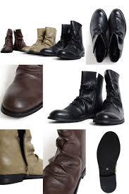 mens motorcycle boots fashion huge rakuten global market pu leather drape engineer boots men