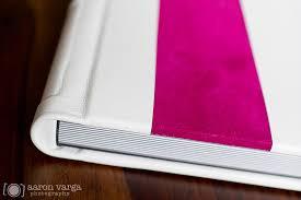 white wedding album pink and white leather flush mount wedding album finao wedding album