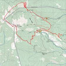 Philmont Scout Ranch Map Philmont 2014 Itinerary 32 Day 9