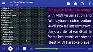 midi clef karaoke player android apps on google play