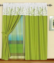 White Curtains With Green Leaves by Curtains Sage Green Decor Country Sudbury Splice Cmt05231457529