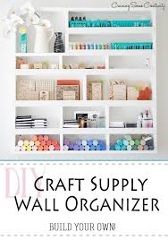 room organizer creative thrifty small space craft room organization ideas