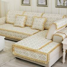 european home textile plaid sofa cover quilted sectional slipcover