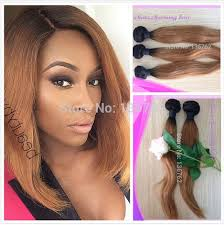 the best sew in human hair new style 1b 27 honey blonde dark root straight ombre 2 two tone