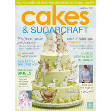 cakes u0026 sugarcraft magazine april may 2016 squires kitchen shop