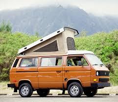 1970 volkswagen vanagon 34 rv rentals available in hawaii rvmenu