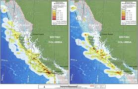 British Columbia Canada Map by Environment And Climate Change Canada Nature Birds At Sea