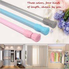 Extendable Rods Curtains Spring Curtain Rod Ebay