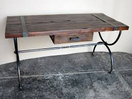 foreign accents industrial desk