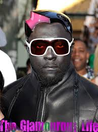 plastic hair will i am has grown plastic hair omg