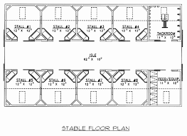 stable floor plans 60 beautiful of pole barns floor plans gallery home house floor plans