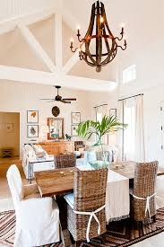 Tropical Dining Room Furniture 2 Story Dining Room Design Ideas
