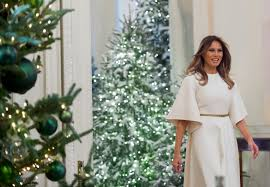 melania s decorations at the white house include a