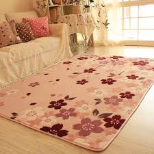 cherry blossom bedroom honey pink soft warm ground rug for living room big size cherry