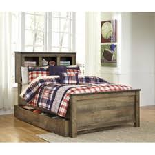 Bookcase Beds With Storage King Bookcase Storage Bed Set