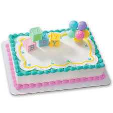 amazon com b a b y blocks decoset cake decoration toys u0026 games