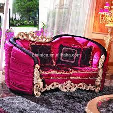 Luxury Wooden Sofa Set Luxury Baroque Exquisite Wood Carving Living Room Furniture