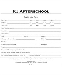 after school study 5 after school schedule templates 5 free word pdf format