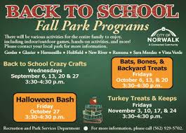 call halloween city parks city of norwalk ca
