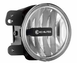 jeep kc lights kc hilites gravity g4 led fog light jeep jk apollo optics inc