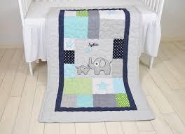 Soccer Crib Bedding by Elephant Quilt Sports Baby Boy Blanket Football Crib Bedding