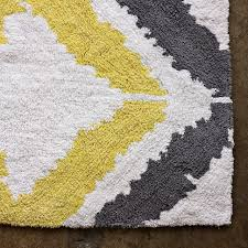 Gray Bathroom Rug by Lovely Yellow And Gray Bath Mat Yellow Bathroom Rug