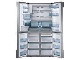 Best French Door Refrigerator Brand - 34 cu ft 4 door flex chef collection refrigerator with
