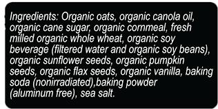black bear blend flax seed sunflower seed and pumpkin seed granola