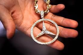 mercedes jewelry pusha t splurges on a encrusted mercedes chain