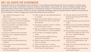 quote generosity kindness how 30 days of kindness made me a better person success