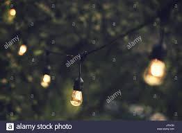 Stringing Lights In Backyard by String Lights Night Stock Photos U0026 String Lights Night Stock