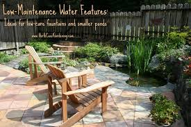 Fountains For Backyard by Low Maintenance Water Features Downsizing Ponds And Fountains