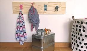 porte manteau chambre enfant idée déco pour chambre d enfant diy portemanteau animaux diy