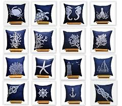 Navy Blue Bathroom Accessories by Navy Blue Decorative Pillows Astounding Bathroom Accessories