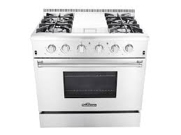 Propane Gas Cooktop Thor Kitchen Stoves Professional Stainless Steel Ranges And Hoods