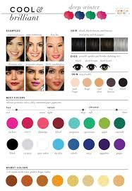 best hair color for deep winters best worst colors for winter seasonal color analysis