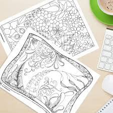 gorgeous free coloring pages adults chance win tombow