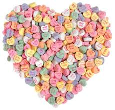valentines day candy hearts candy hearts s day card paper house