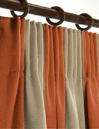 Orange And Brown Curtains Collection In Orange And Brown Curtains And Orange Curtains Design