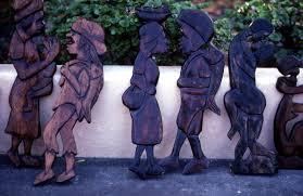jamaican wood sculptures florida memory jamaican wood carving miami florida