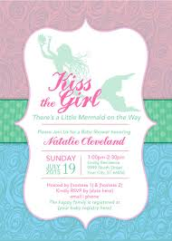 mermaid baby shower invitation theruntime com