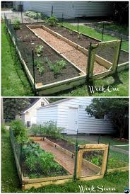 20 diy raised garden bed ideas instructions free plans fences