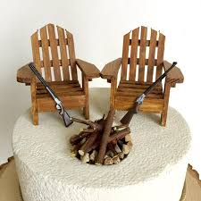 camo cake toppers rustic wedding cake toppers wedding cake topper cabin
