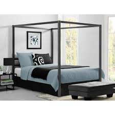 Bedframe With Headboard Gray Beds Headboards Bedroom Furniture The Home Depot