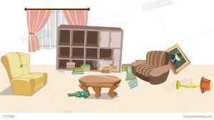 livingroom cartoon cartoon animation earthquake in cartoon living room stock animation 1260508 jpeg