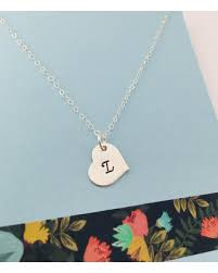 sterling monogram necklace check out these hot deals on initial necklace initial heart