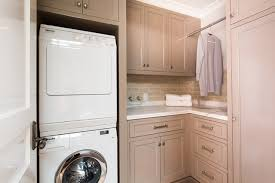 Laundry Cabinet With Hanging Rod Laundry Room Hang Bar Houzz